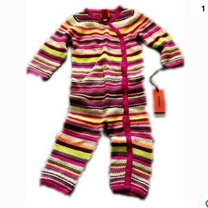 Missoni for Target One Pieces - Missoni for Target Baby One Piece Jump Suit 6-12